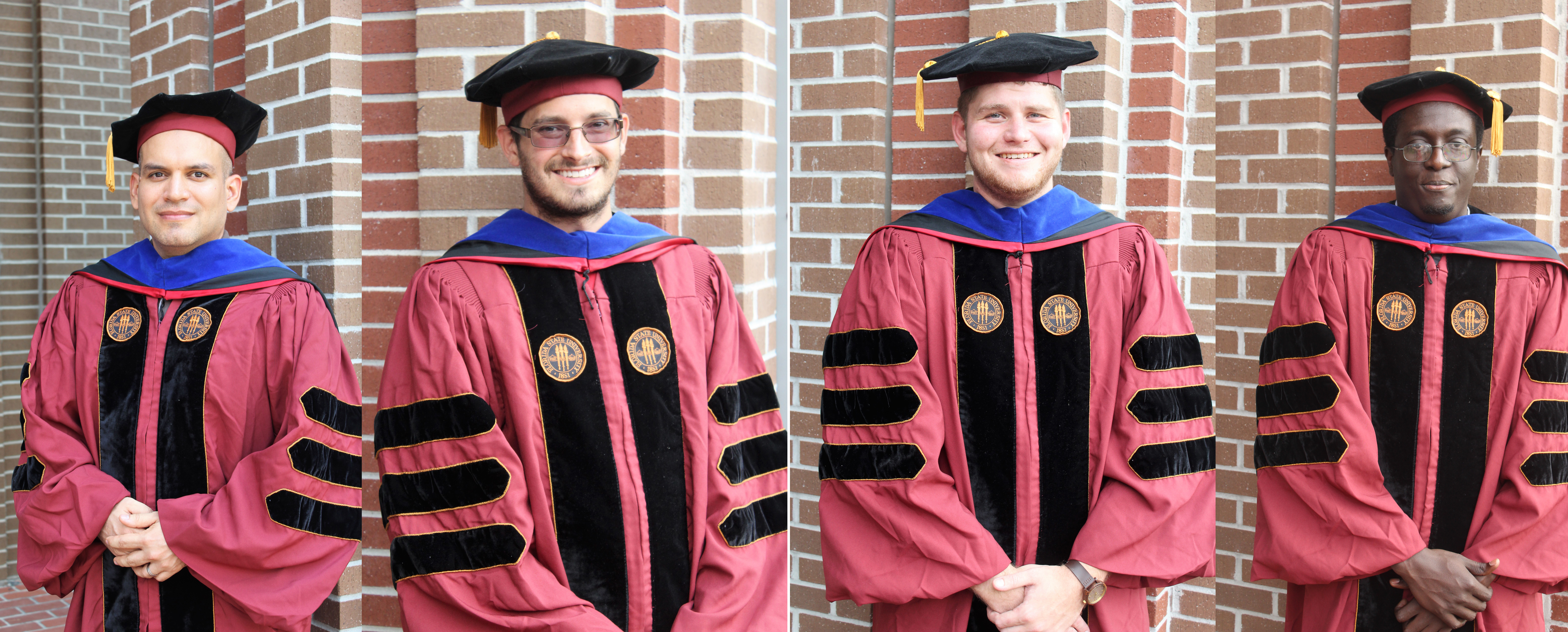Congratulations to the graduating CAPS Ph D Students